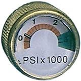 Spare-Air Screw In Dial Pressure Gauge