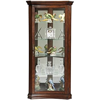 Cabinets & Cupboards Antique Style Flame Mahogany Drinks Display Cabinet Online Discount