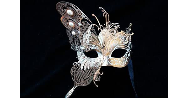 Venetian Masquerade Gold Skull Mask Halloween Party Event Prom Events Parties