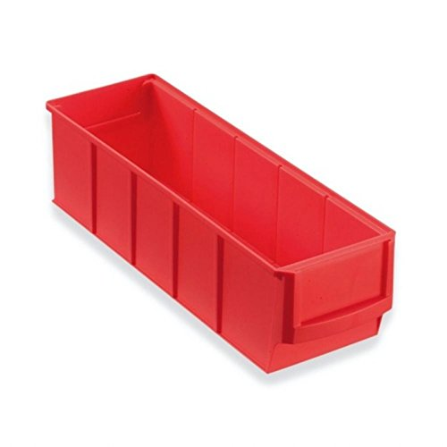 Industriebox rot 300x91x81 mm Box Stapelboxen Stapelbox Stapelkä sten Stapelkasten universalboxen Lagerkisten Lagerkiste lagerbehä lter kunststoffkisten Stapelkiste Stapelkisten aufbewahrungskiste aufbewahrungskisten kunststoffkiste Universalkist