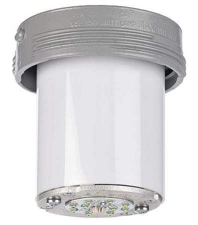 Killark VSL1630 LED Fixture, V Series, 16W, Copper-Free Aluminum, Gray by Killark