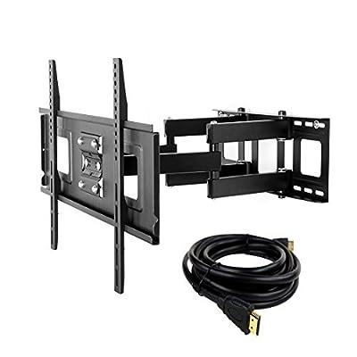 """FLEXIMOUNTS Full motion Tilt & Rotate TV Wall Mount bracket for 32""""-65"""" Screens"""