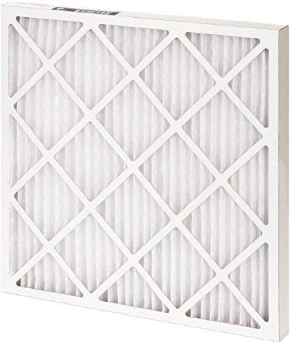 8 Pack 16 Nom Height x 30 Nom Width x 1 Nom Depth Polyester Wire-Backed Pleated Air Filter Made in USA