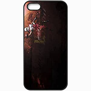Personalized iPhone 5 5S Cell phone Case/Cover Skin 14296 cards wp 10 sm Black