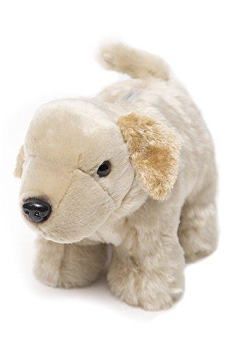 Carstens Yellow Plush Lab Dog Kids Coin Bank