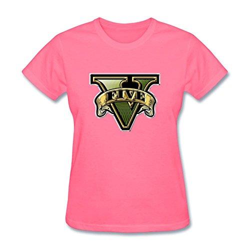 Price comparison product image SLJD Women's GTA V Grand Theft Auto Design Short Sleeve T Shirt