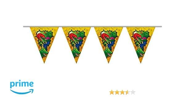 Folat Dinosaurios banderines 6 m