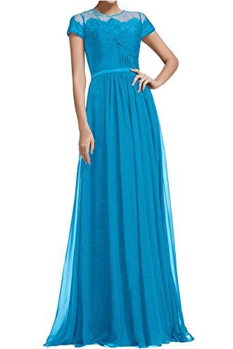 trapecio 48 para Vestido azul Topkleider mujer U5wgBWq