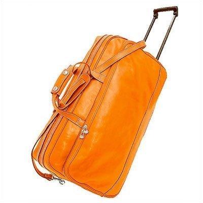 Floto Luggage Italian Milano Trolley, Orange, Medium (Milano Trolley)