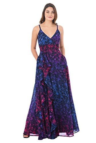 Georgette Ruffle Dress - 9