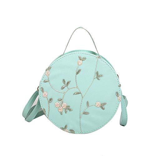 Bags For Women Round Bag Body Bag Handbag Fashion Embroidery Single Shoulder Oblique Cross Bag