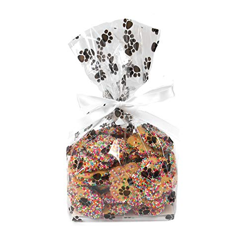 Spring Spritz Cookie Bag - Vanilla Flavor Gourmet Dog Treats by Claudia's Canine Bakery - 8 Ounces
