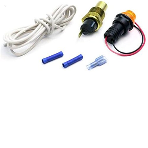 AFCO 85192 AFCO Warning Light Kit Water Temperature