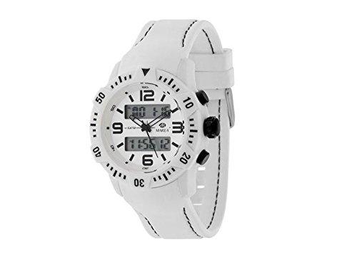 Reloj Marea Hombre B35228/2 Analógico-Digital Goma Blanco: Amazon.es: Relojes