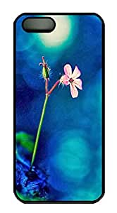 iPhone 5 5S Case nature flower colorful 23 PC Custom iPhone 5 5S Case Cover Black