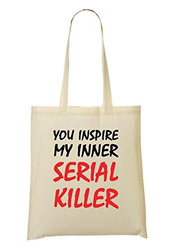 Bag Killer Serial Divertente Mano Il Shopping Interiore Mio Ispirare HYnBx
