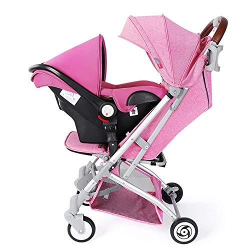 NaNa Lightweight Baby Stroller 2 in 1 Aluminium Alloy Pram,4