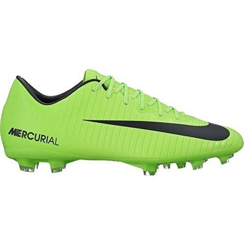 NIKE Junior Mercurial Vapor XI FG Kid's Firm-Ground Soccer (Nike Mercurial Vapor Green)