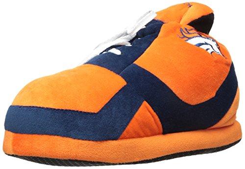 NFL Denver Broncos 2015 Sneaker Slipper, Large, Blue