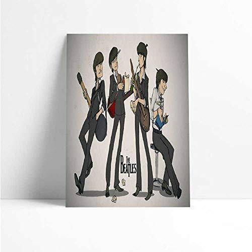 Quadro Decorativo - The Beatles HQ - Quadro 20x30