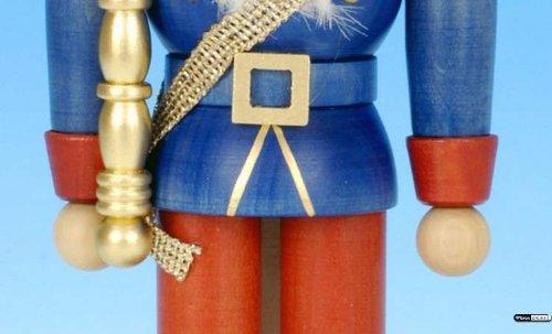 German Christmas Nutcracker King - 27,5 cm / 11 inch - Christian Ulbricht by Authentic German Erzgebirge Handcraft