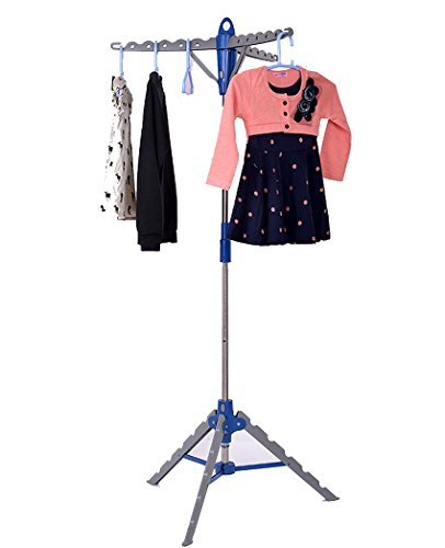 Dickin Collapsible Tripod Clothes Drying Rack Portable Indoor Patio Display Rack by Dickin (Image #7)
