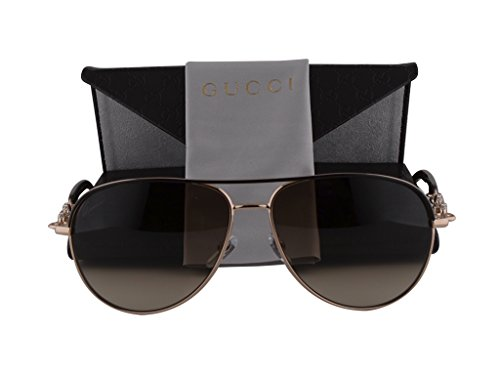 Gucci GG4239/N/S Sunglasses Shiny Brown w/Brown Gradient 0JJCC GG - 4239 S Sunglasses Gucci