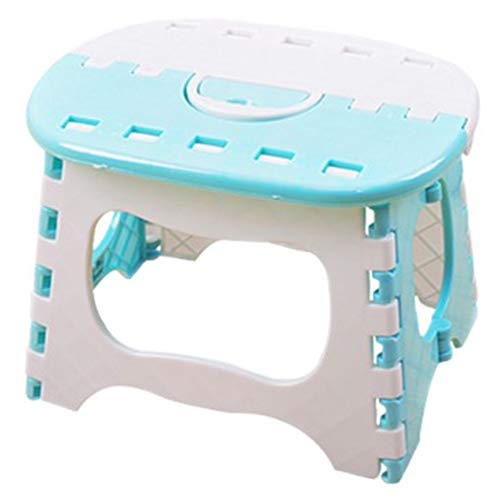 - RANRANHOME Folding Step Stool for Kids - 10 Inches Wide and 7.5 Inches Tall - Holds Up to 200 Lbs - Lightweight Plastic Design Stool