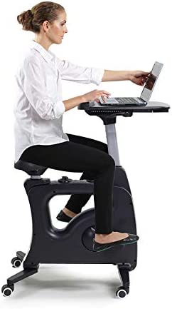 FLEXISPOT Home Office Standing Desk Exercise Bike Height Adjustable Cycle