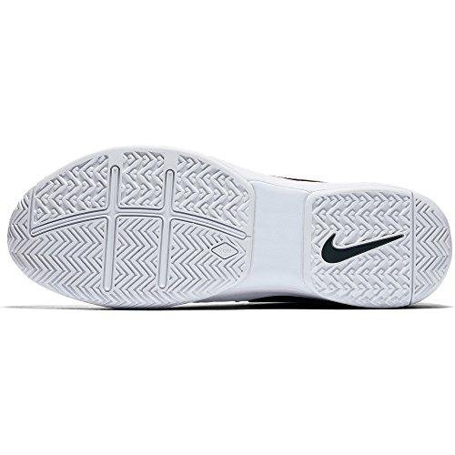 Nike Hommes Air Vapeur Avantage Tennis Chaussures Blanc / Noir-université Rouge