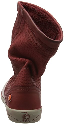 Softinos Damen IGGY348SOF Kurzschaft Stiefel Red (Scarlet)
