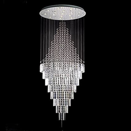 Modern contemporary chandelier rain drop chandeliers h 100
