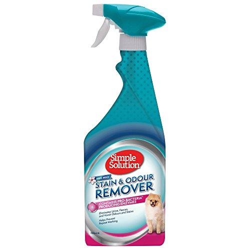 Simple Solution Einfache Lösung Flecken und Geruchsentferner mit Spring Breeze Duft, 750 ml