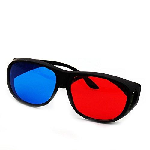Muicatte New Red + Blue 3D Stereo Glasses