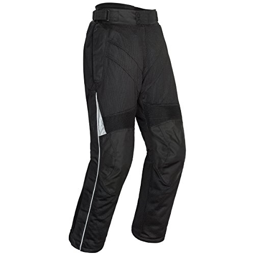Air Textile Pants (Tour Master Venture Air 2.0 Men's Textile Street Motorcycle Pants - Black/Medium)