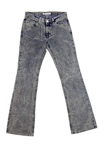 Bif1110w03013 Indaco Pantaloni In Fornarina Flirt Velluto 61Hw6dq