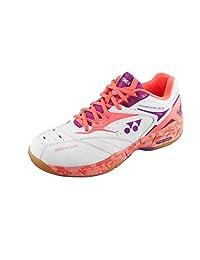 Yonex Women's Power Cushion SHB-SC5 LX Badminton Shoe-Coral Orange