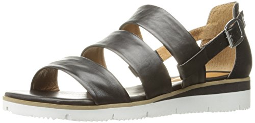 Nappa Black Marisol Women Como Silk Flat Sandal Corso EX8q0xwPw