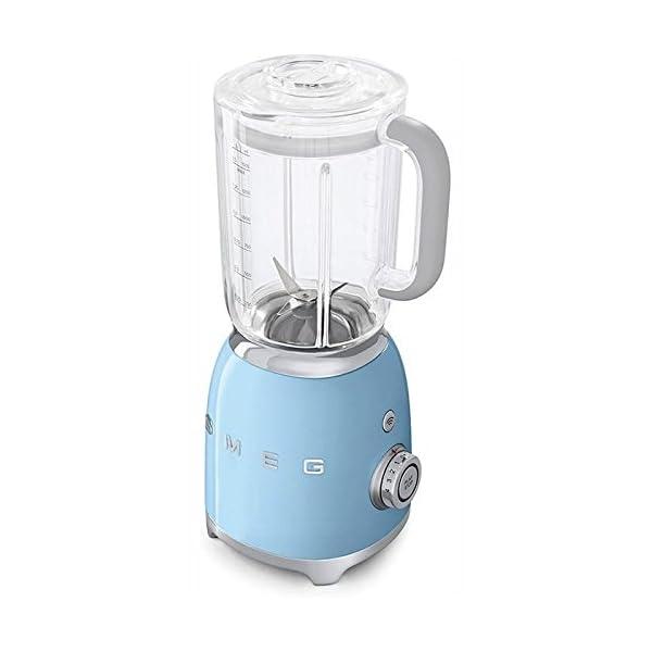 Smeg Blender Pastel Blue BLF01 PBUS 1