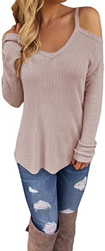 STYLEWORD Womens Shoulder Knitted Sweater product image
