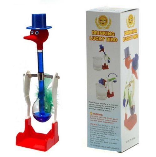Forum Novelties Blue Retro Happy Dippy Drinking Bird (Drinking Bird Water)
