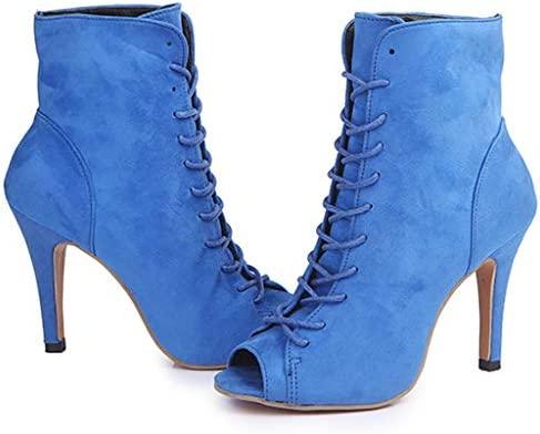 Fenverk_Schuhe - Botas para Mujer Azul 38 EU: Amazon.es: Hogar