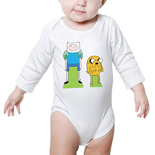 MQACUA Baby Boys Long Sleeve Onesies Fashion Fashion