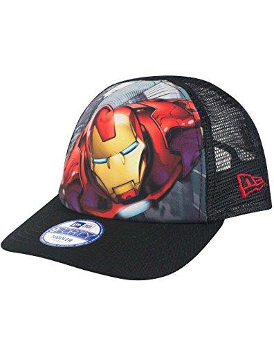 New Era 9Forty Iron Man Super Truck A Frame Kid's Trucker Cap (Toddler)