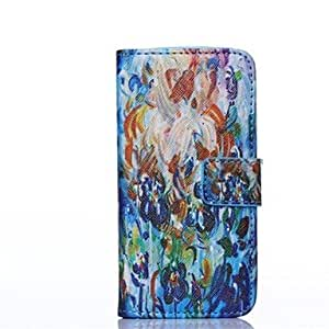DD Oil Painting Pattern Full Body Case with Stand for iPhone 5/5S