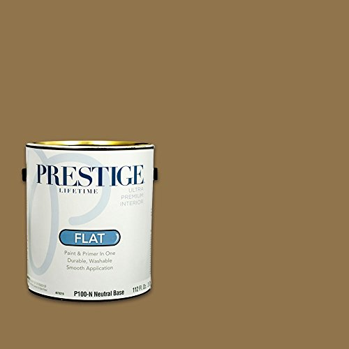 Prestige, Browns and Oranges 4 of 7, Interior Paint and Primer In One, 1-Gallon, Flat, Mast