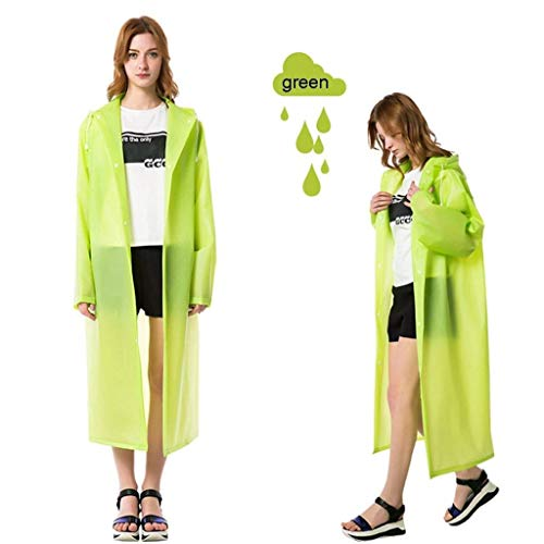 Trasparente Hiking Single Ragazza Adult Paragraph Fashion Tourism Women Outdoor Impermeabile Raincoat Poncho C Student Long pqBFwOS