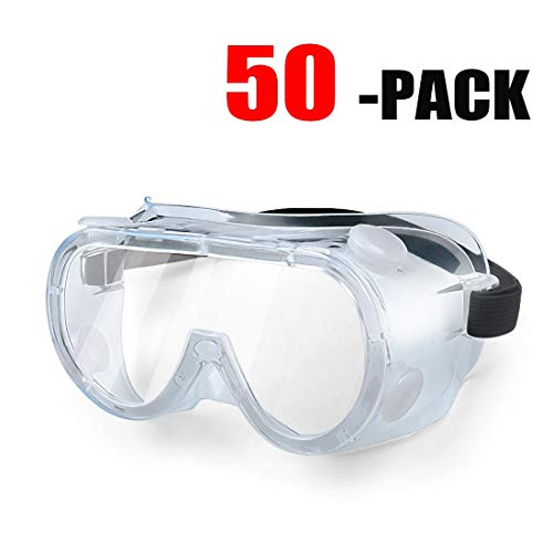 Safety Glasses Protective Eyewear for Lab Work Eye Protection