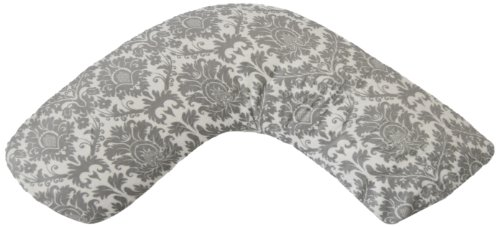 Luna-Lullaby-Bosom-Baby-Nursing-Pillow-Dynasty-Grey