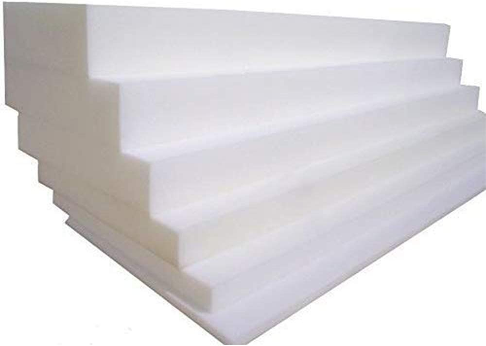 Thick, 24 x 24 Firm Upholstery Foam Foam for Sofa Cushion Replacement 2 5 cm